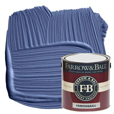 Farrow & Ball - Estate Emulsion - Peinture Mate - 220 Pitch Blue - 2,5 Litres