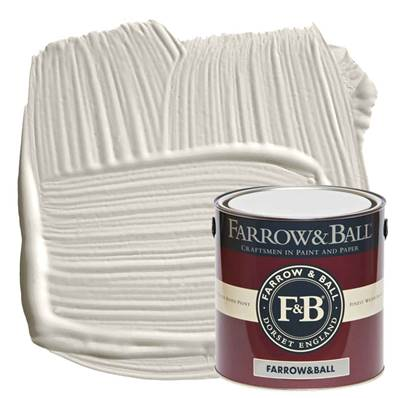 Farrow & Ball - Modern Emulsion - Peinture Lavable - 228 Cornforth White - 2,5 Litres