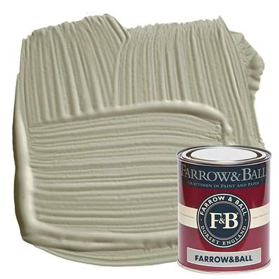 Farrow & Ball - Estate Eggshell - Peinture Satinée - 18 French Gray - 750 ml