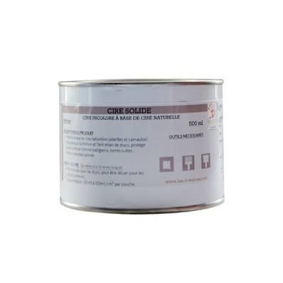 Cire Solide Blanche - Les 3 Matons - 500 ml
