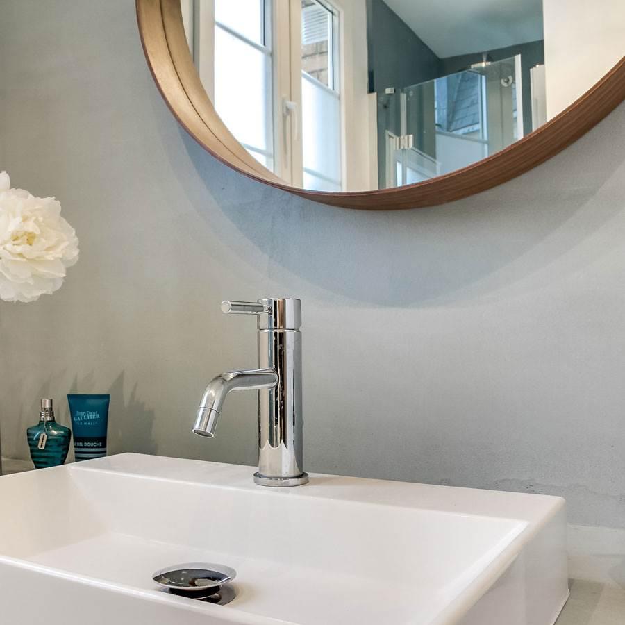 port offert kit b ton cir pour mur recouvrement carrelage russule. Black Bedroom Furniture Sets. Home Design Ideas