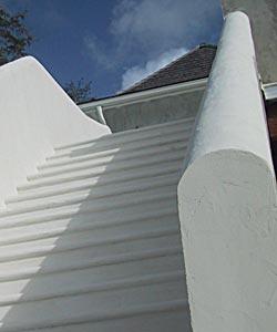 Escalier Extrieur En Bton Enduit