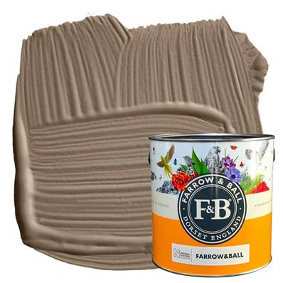 Farrow & Ball - Estate Emulsion - Peinture Mate - NHM W108 Broccoli Brown - 2,5 L