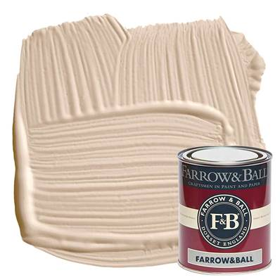 Farrow & Ball - Estate Eggshell - Peinture Satinée - 231 Setting Plaster - 750 ml