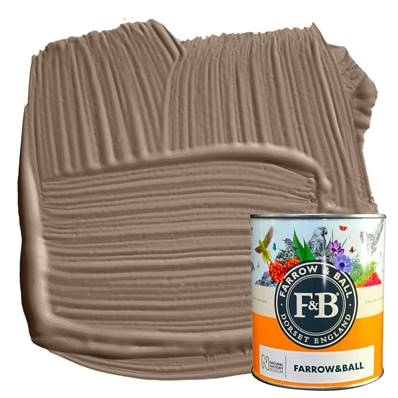 Farrow & Ball - Estate Eggshell - Peinture Satinée - NHM W108 Broccoli Brown - 750 ml