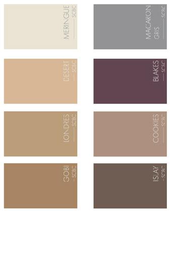 Toutes les couleurs du Sol Coulé Béton Coloré Mercadier