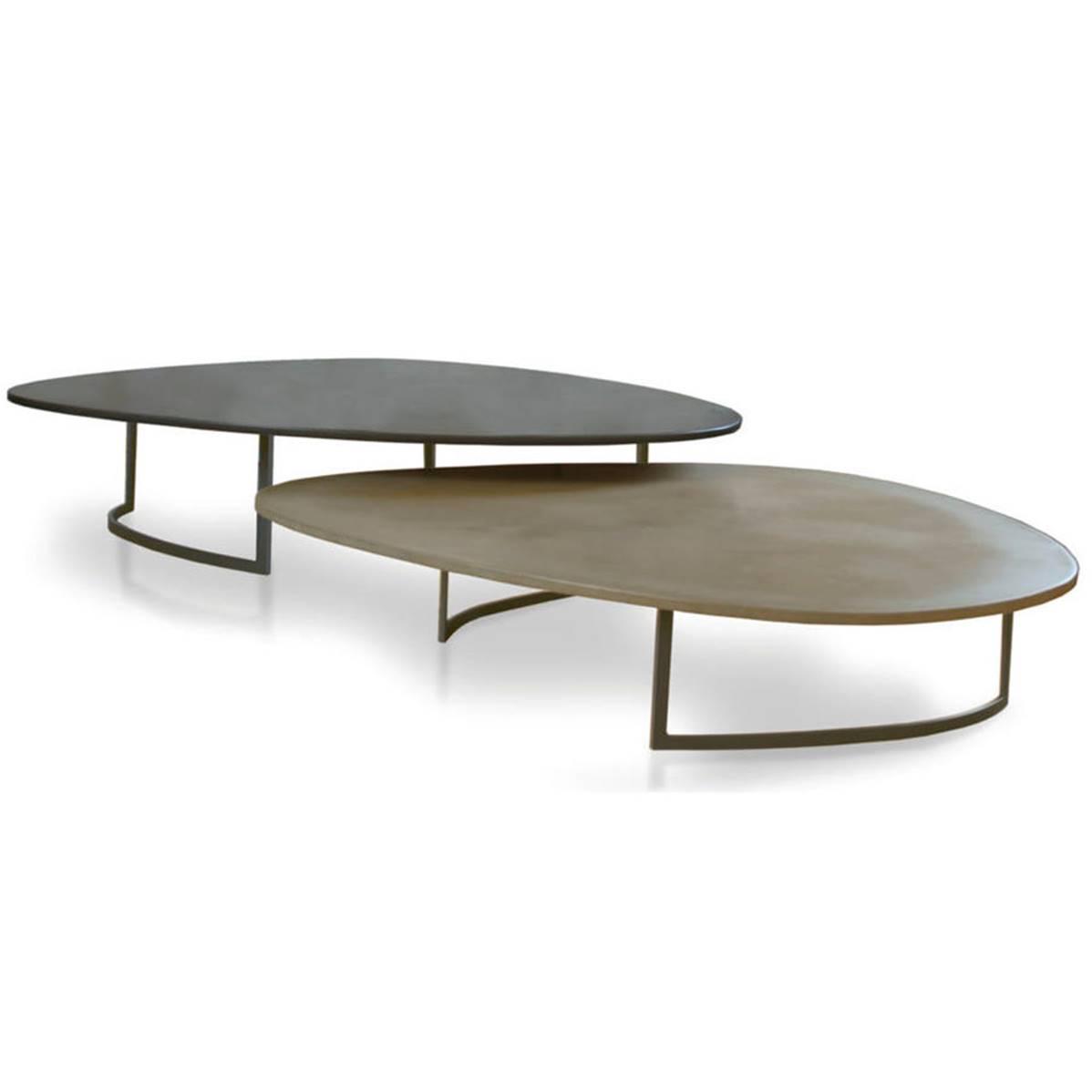 Table Galet Salome De Fontainieu Haute 29cm 93 92 Couleur Kaki