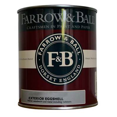 Farrow & Ball - Exterior Eggshell - Peinture Extérieur - 235 Borrowed Light - 750 ml