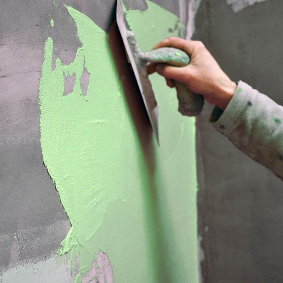 Port offert kit b ton cir pour mur pi ce d 39 eau sur support lisse col wasabi for Beton cire sur mur en platre