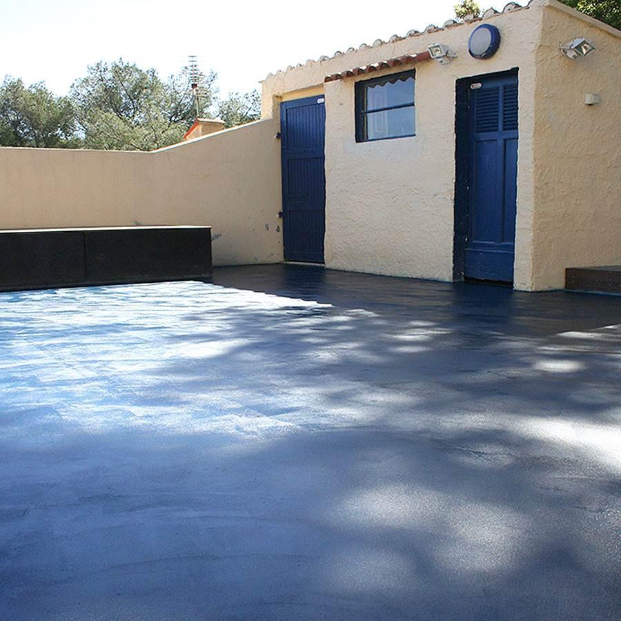Beton Cire Exterieur Avis mercadier - béton ciré - kit sol extérieur & pièce d'eau - support poreux  lisse ottomane - 4,3m²
