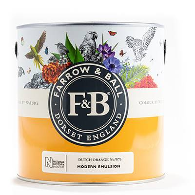 Farrow & Ball - Modern Emulsion - Peinture Lavable - NHM W9 Ash Grey - 2,5 L