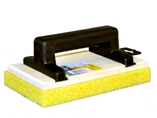 Vente en ligne taloche rectangulaire 13 x 20 pour frotassage le conseil en - Peinture a la taloche video ...