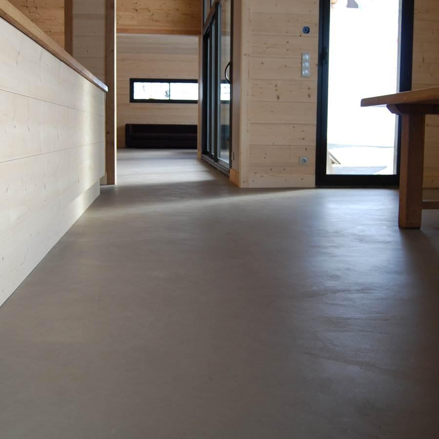 Sol Terrazzo Coulé Prix mercadier - béton ciré - kit rbx int. sur carrelage joints fins aka -  jusqu. 12,6m²