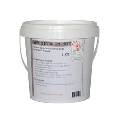 Savon noir de marrakech les 3 matons mercadier shop port offert partir de 99 ttc - Savon noir pucerons dosage ...