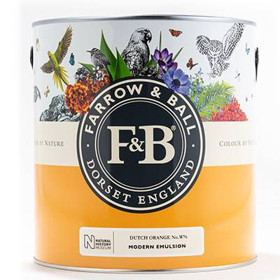 Farrow & Ball - Estate Emulsion - Peinture Mate - NHM W40 Imperial Purple - 2,5 L