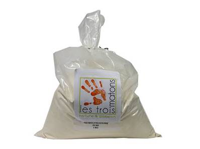 Les 3 Matons - METHYLCELLULOSE PURE - 1Kg