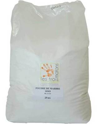 Sable De Quartz Silice Blanc 25Kg (0,1 à 0,3mm)