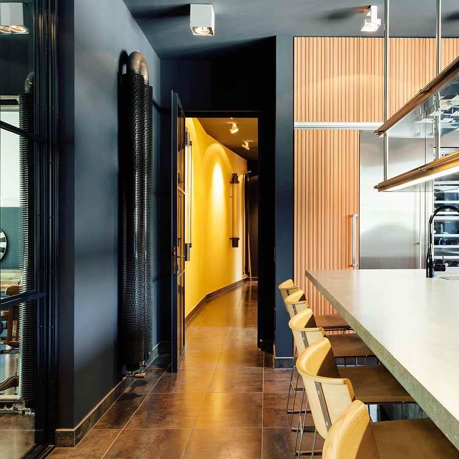 peinture de d coration murale le mat fusain. Black Bedroom Furniture Sets. Home Design Ideas