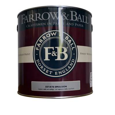 Farrow & Ball - Estate Emulsion - Peinture Mate - 04 Old White - 2,5 Litres