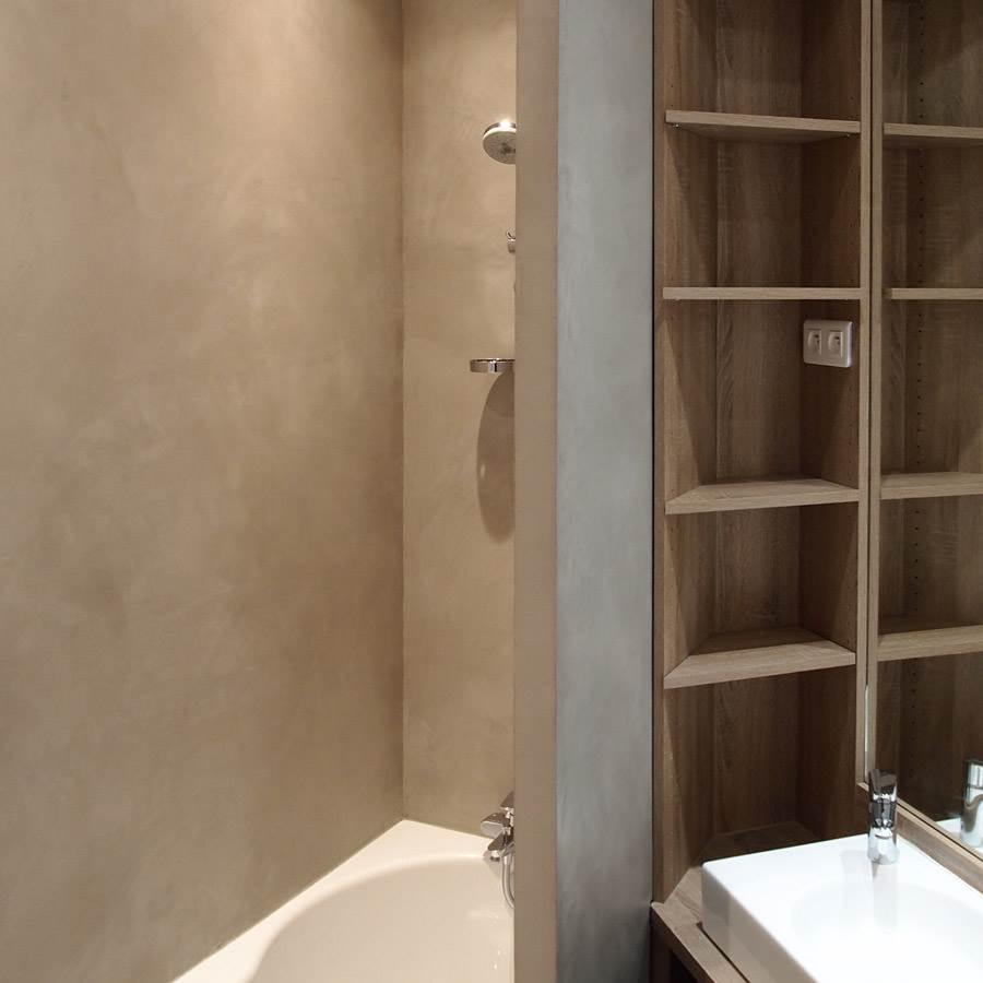 b ton cir ebc pour sol mur douche plan de travail taupe mercadier port offert partir de 9. Black Bedroom Furniture Sets. Home Design Ideas
