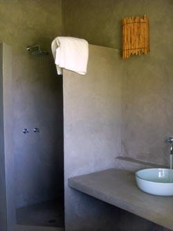 projet d coration douche italienne douche b ton cir. Black Bedroom Furniture Sets. Home Design Ideas