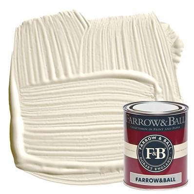 Farrow & Ball - Estate Eggshell - Peinture Satinée - 2002 White Tie - 750 ml