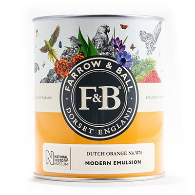 Farrow & Ball - Estate Eggshell - Peinture Satinée - NHM W9 Ash Grey - 750 ml