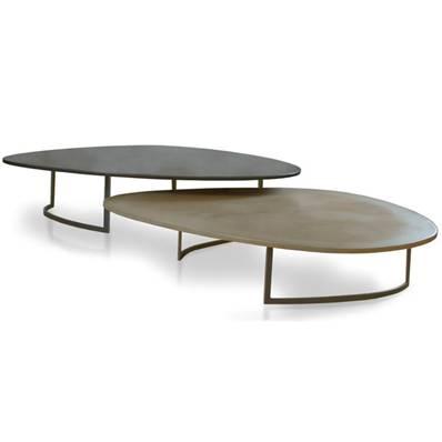 Table Basse Beton Cire Salome De Fontainieu Mercadier Edition