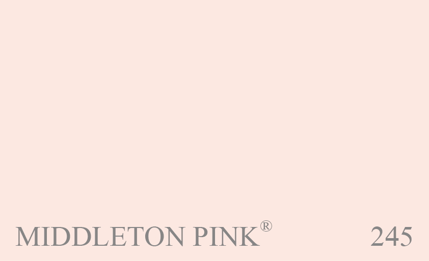 Couleur 245 Middleton Pink : Version plus claire et plus délicate que le n° 202 Pink Ground.